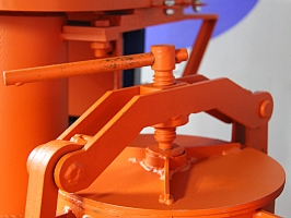 Установка для производства газобетона ГБС-350.