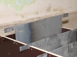 Борта с перегородками для блоков (6 блоков) ламинированная фанера