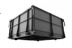 Поддон формы передвижной (24 блоков) объемом 0,8 м3.