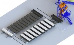 Линия для производства газобетона конвейерного типа ПРОФИ 500-20