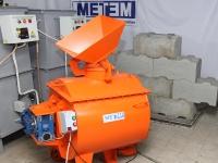 Пенобетоносмеситель МЕТЕМ-250 со встроенным пеногенератором