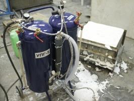 Установка для производства пеноизола УПГ-5