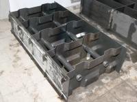 Форма пазогребневая МЕТЕМБЛОК 598*298*200 комплект